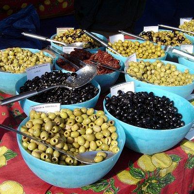 olives at Shoreham Farmers Market