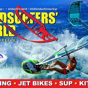 Advert for Windsurfers World
