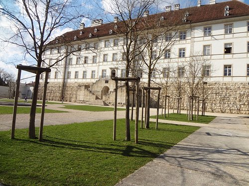 Delémont - Jardins du Château