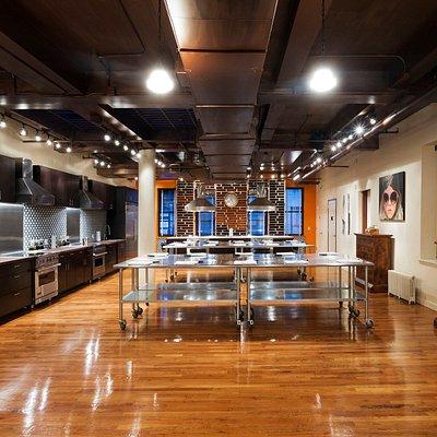 Kitchen View of MCP's Flatiron Loft