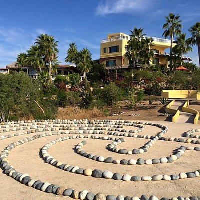 Enjoy some walking meditation around our Labyrinth.