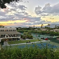 Wailea Club House & stadium court