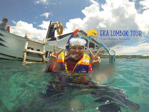 Snorkeling at Gili Petelu & Pink Beach Lombok will refresh you