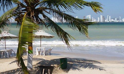 Cartagena vista desde Tierrabomba