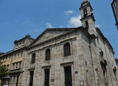 Iglesia de Santiago A Nova. Lugo