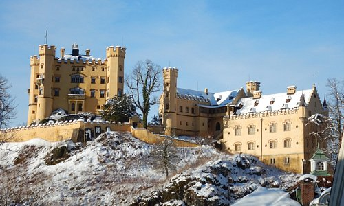 Hohenschwangau Castle from the visitors center