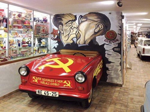 Zátiší od Berlínské zdi