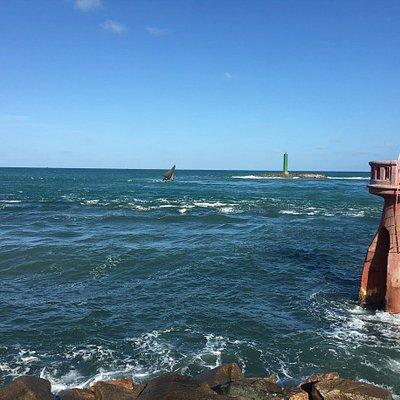Ponta do Pier da Praia da Redinha