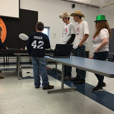 First Lego League Robotics Competition at Challenger Learning Academy