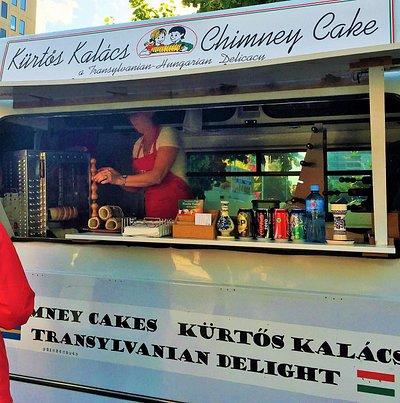 Yum...Chimney Cake!