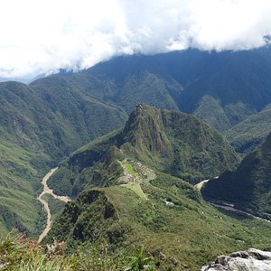 Uitzicht vanuit Machu Picchu Mountain