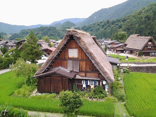 La più nota delle case Gassho