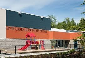 Front view of this popular leisure facility.