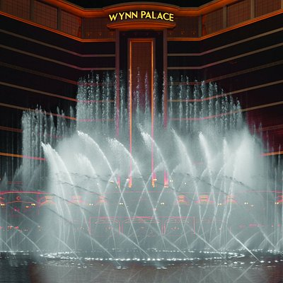 Graceful plumes of water dance a romantic ballet or soar into the sky with power and precision