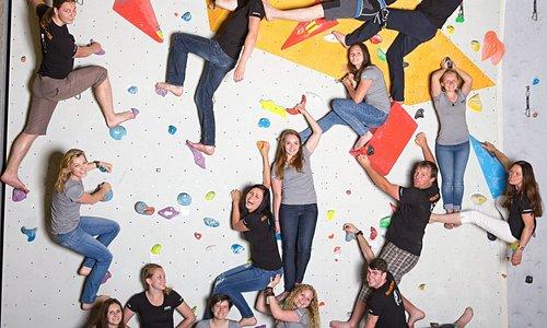 climbing wall, LezeTop team