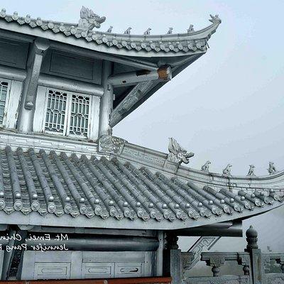 Temple in Mt Emei