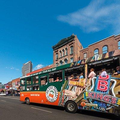 Travel down Broadway, heart of Nashville's vibrant downtown music scene.