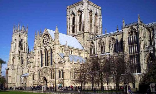 York Minster, Steve is qualifies to give you  personal tour.