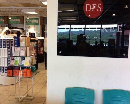 パラオ空港のDFS