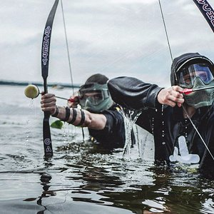 Play Archery ames in water!. Ultimate fun for everyone.