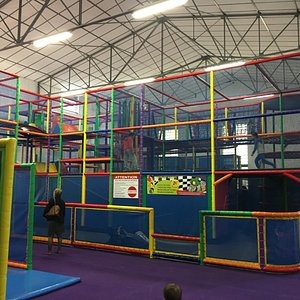 Bigger kids' play area