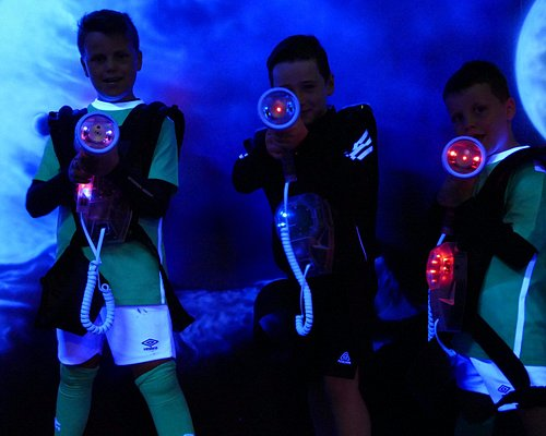 Laser Quest at Arena7