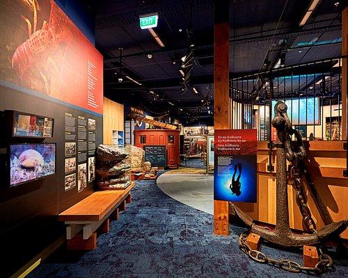 Entrance to main exhibition area