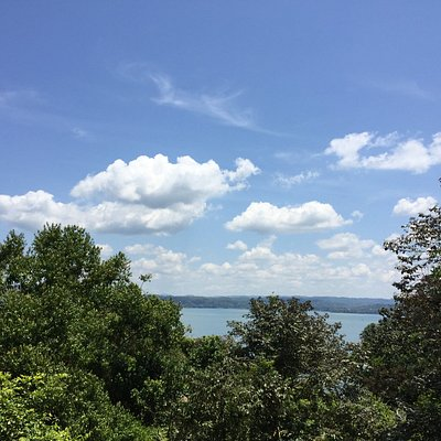 View of Lake Gatun from the visitor center