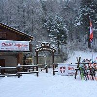 esterno inverno Chalet Jafferau