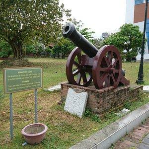 Outside the Da Nang Museum