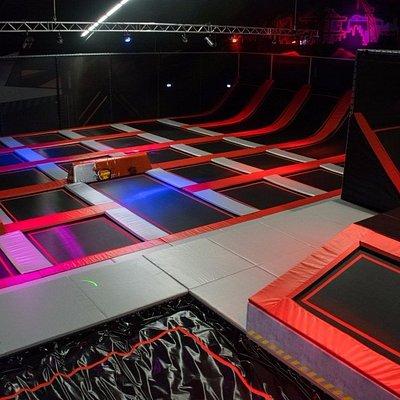 Trampoline Arena - Jump XL Trampoline Park Rotterdam