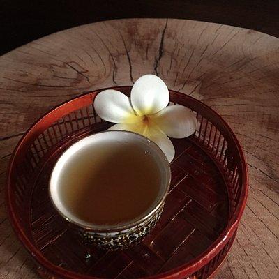 Tea after massage. Nice treat!