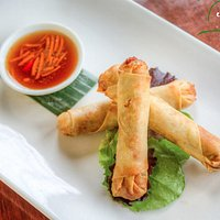 The chinese inspired spring rolls are a curry bowl favorite.