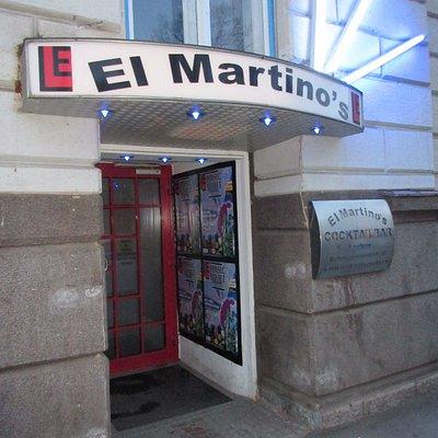 Eingangsbereich zum El Martino´s