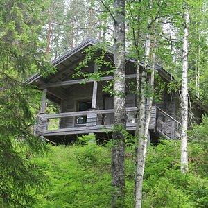 kummakivi домик для туристов