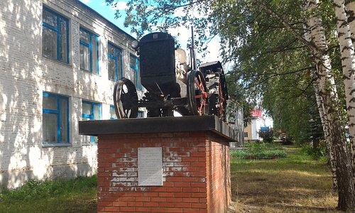 Памятник трактору, Янаул.