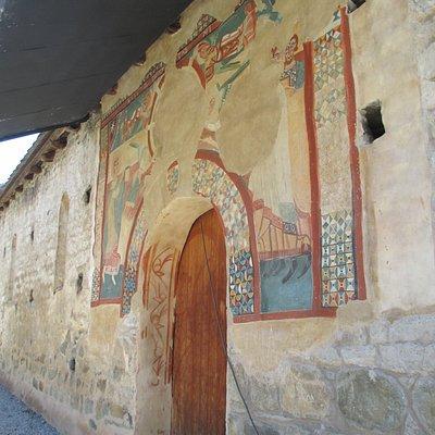 kopie van fresco aan ingang