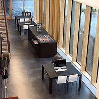 Milano, Fondazione Ferré: vista dal piano superiore