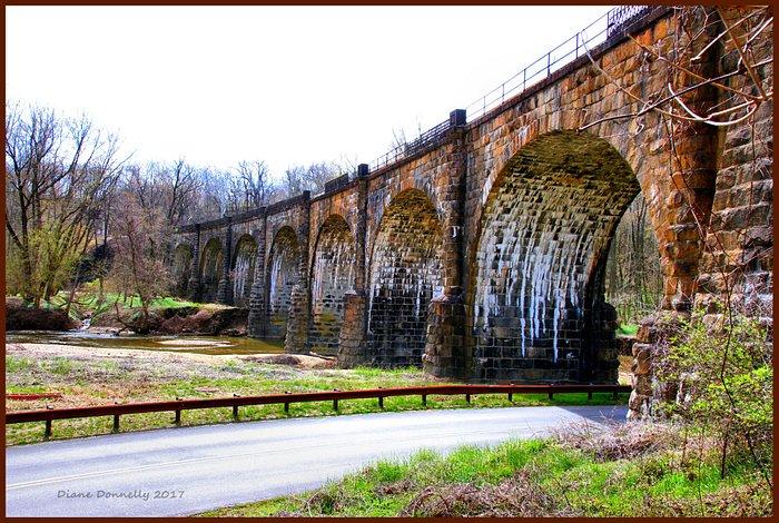 Thomas Viaduct, near Halethorpe, MD.