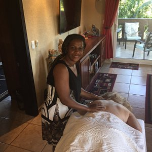 Donna (picture here) offers in home massage for your convienance