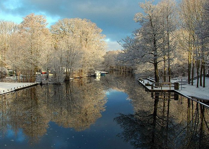Winter in Frederiksdal