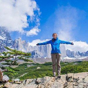 Mirador Britanico in Torres del Paine National Park