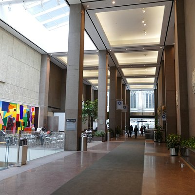 Lobby at Olympic Tower