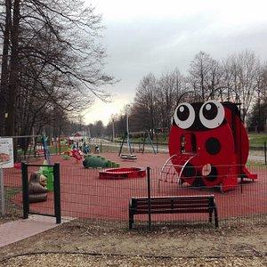 Plac zabaw dla maluszków Biedronka