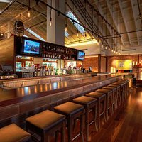 Happy Hour is 7 days a week, 5pm-7pm in the Bar & Lounge!