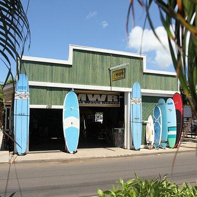Maui Waveriders Lahaina in Historic Lahaina town