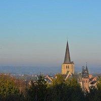 zicht op de kerk van Heist-op-den-Berg