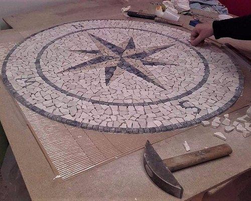Rosone mosaico