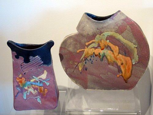 Interesting ceramics at Borrego Art Insitute