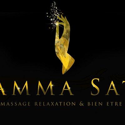 Logo SAMMA SATI Massage Bien-être Isle sur la Sorgue